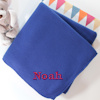 Embroidered Royal Blue Fleece